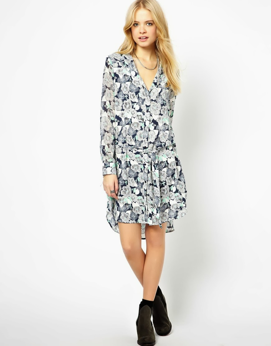 pepe shirt dress