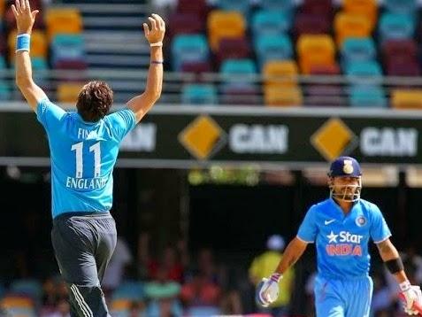 Carlton Tri-Series India vs England Match 6