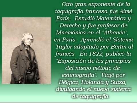HISTORIA DE LA TAQUIGRAFÍA PARTE 3