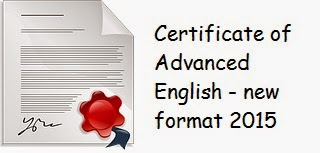 New revised CAE exam format 2015 Writing paper