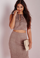 https://www.missguided.co.uk/faux-suede-lace-up-crop-top-grey