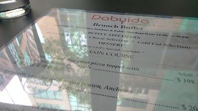 【食】 週末悠閒 brunch*尖沙咀 Dabyida Restaurant and Bar