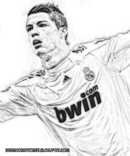 Foto kartun Cristiano Ronaldo