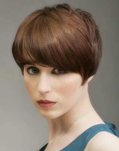 Short Close-Cropped Hair Style 2014
