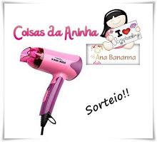 Sorteio de um secador de cabelo rosa da Back & Decker, presente lindo da Ana Bananna