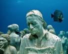 Fantastické sochy pod vodu
