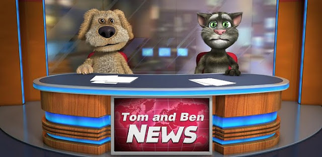 Download Talking Tom & Ben News Apk From HERE