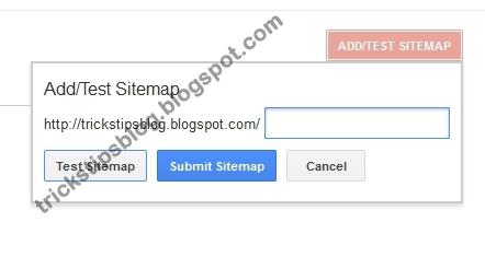 sitemap cara menambahkan daftar isi
