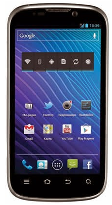 ZTE Grand X V970 Android