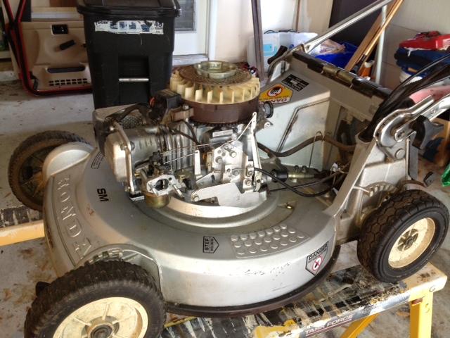 honda hr214 lawn mower blog  2012