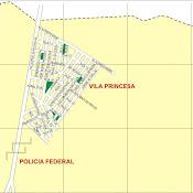 Mapa da Vila Princesa