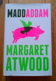 MaddAddam by Margaret Atwood. UK hardback edition.