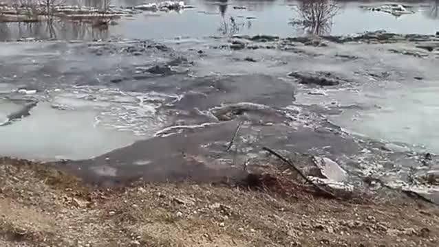 Monstrous River Whirlpool Eats Everything In Sight