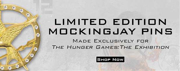 'The Hunger Games Exhibition' Merchandise Online Store Now Open