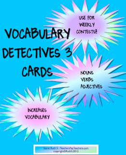 photo of Vocabulary Detective Cards 3 Free PDF