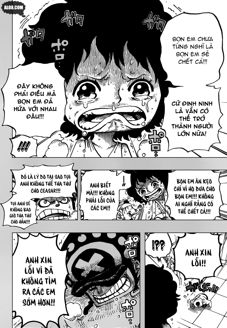 One Piece Chapter 688: Mocha 012
