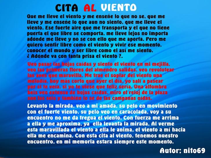 CITA AL VIENTO  ( Imagen )