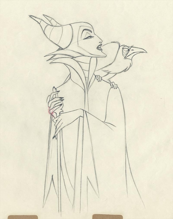 "Disney Movie Princesses: Maleficent from ""Sleeping Beauty"""