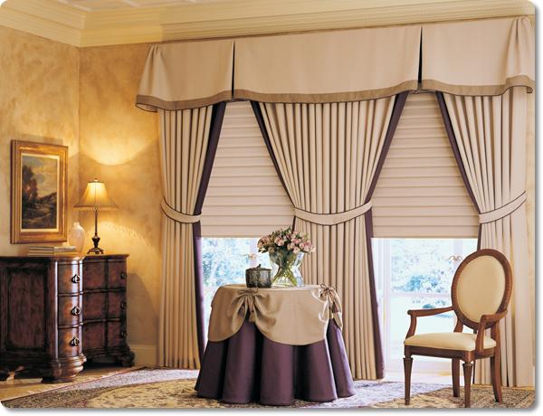 Decorando dormitorios fotos de cortinas para sala con cenefas for Decoracion de cortinas modernas