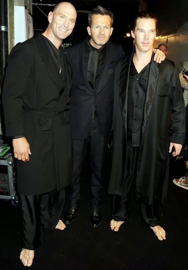 Famous Male Feet: Bene... Benedict Cumberbatch