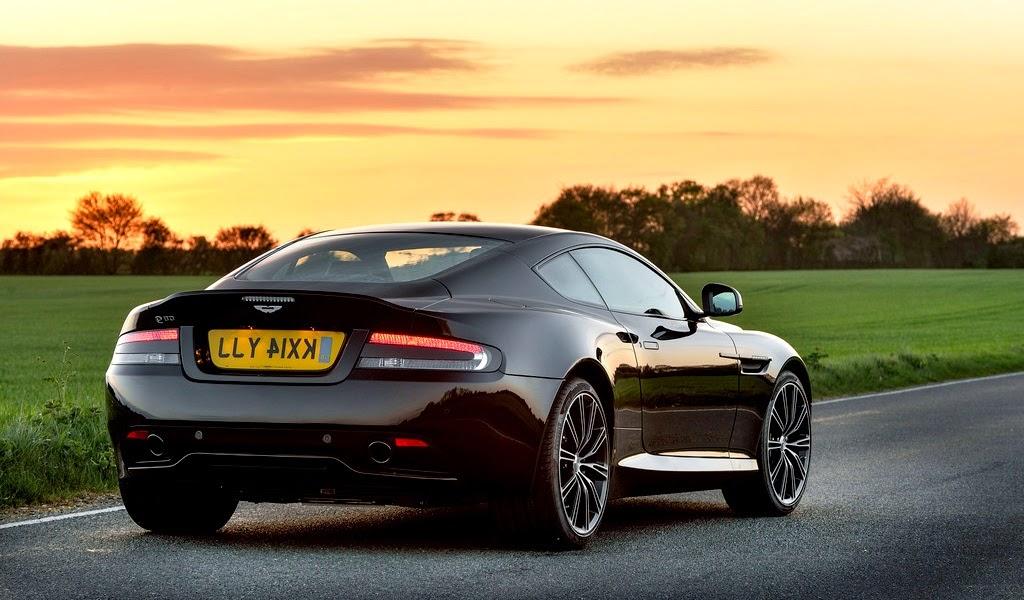 2015 Aston Martin DB9 Carbon Black Edition Rear Wallpaper