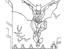 Free Coloring Pages For Batman And Robin