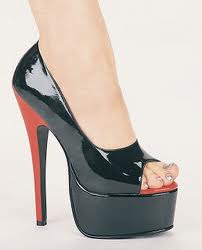 A collection of the latest models of high heels