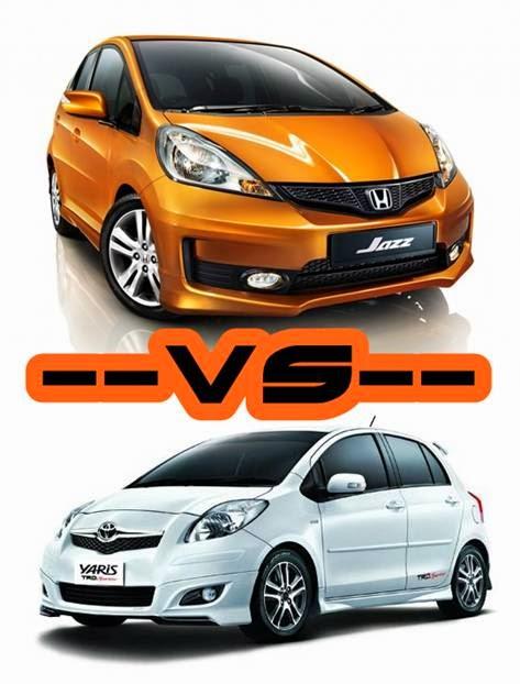 Komparasi Mobil Bekas Toyota Yaris NCP91 VS Honda Jazz GE8