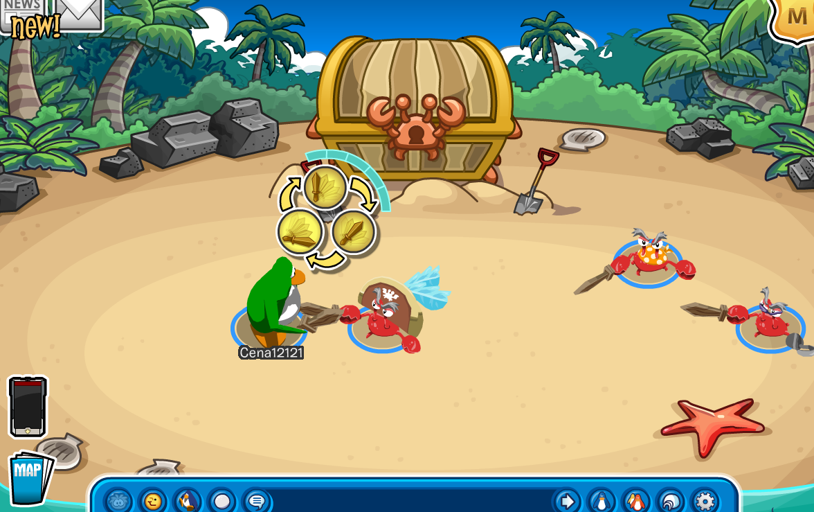 Club Penguin Pirate Party 2014 Cheats