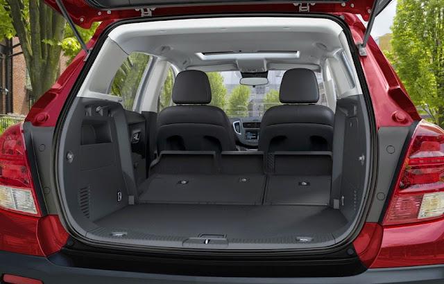Interior Chevrolet TRAX 2015