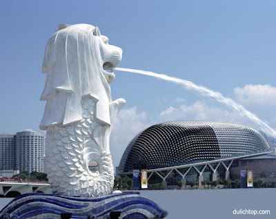 Tour Du Lịch Singapore: Sentosa-Vườn Chim Jurong Anh+dep+cong+vien+merlion+singapore
