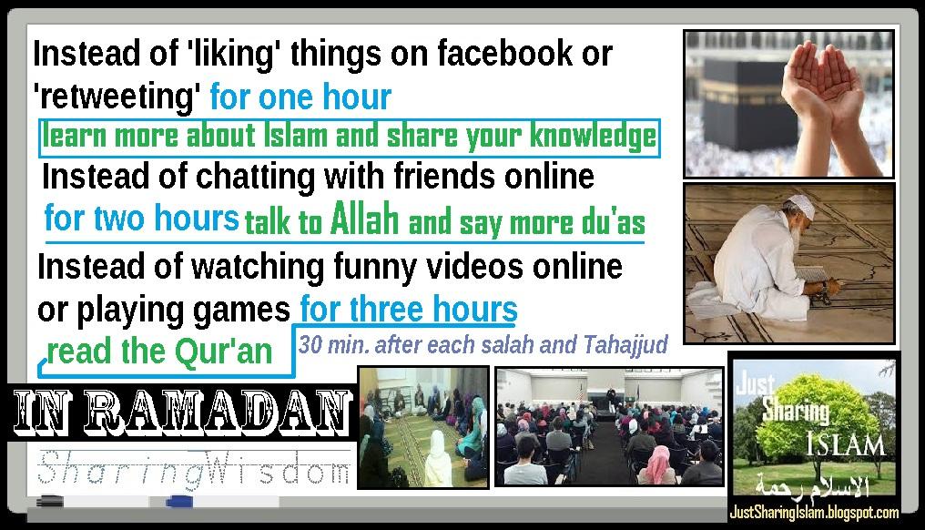 POEM Wisdom In Some Events Ramadan Reminders