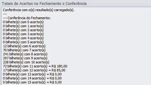 Conferencia da Lotofácil 0938