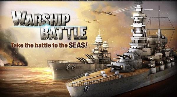 تحميل لعبة السفينة الحربية للأندرويد مجاناً WARSHIP BATTLE:3D World War II 1.0.4 APK