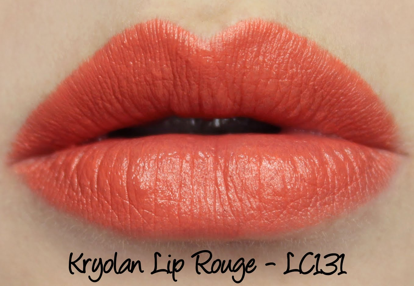 Kryolan Lip Rouge Classic Lipstick LC131 Swatches & Review