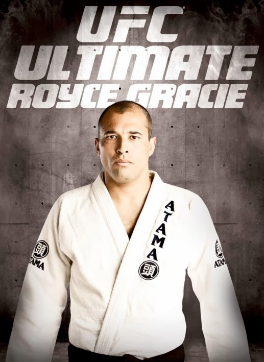 DVDs in my collection: UFC Ultimate Royce Gracie