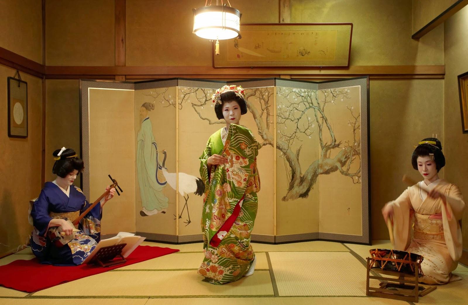 La vida de una geisha