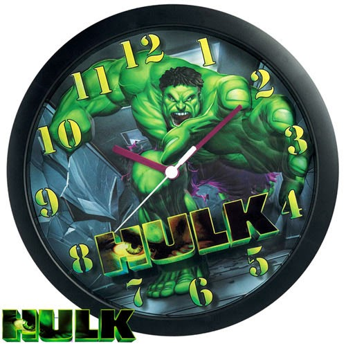 Reloj de pared El Increíble Hulk