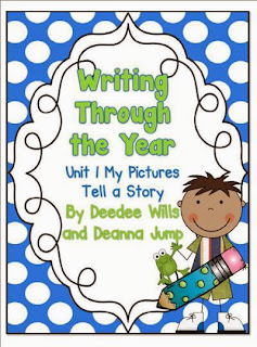 http://www.teacherspayteachers.com/Product/Writing-Through-the-Year-Unit-1-Aligned-with-Common-Core-296695