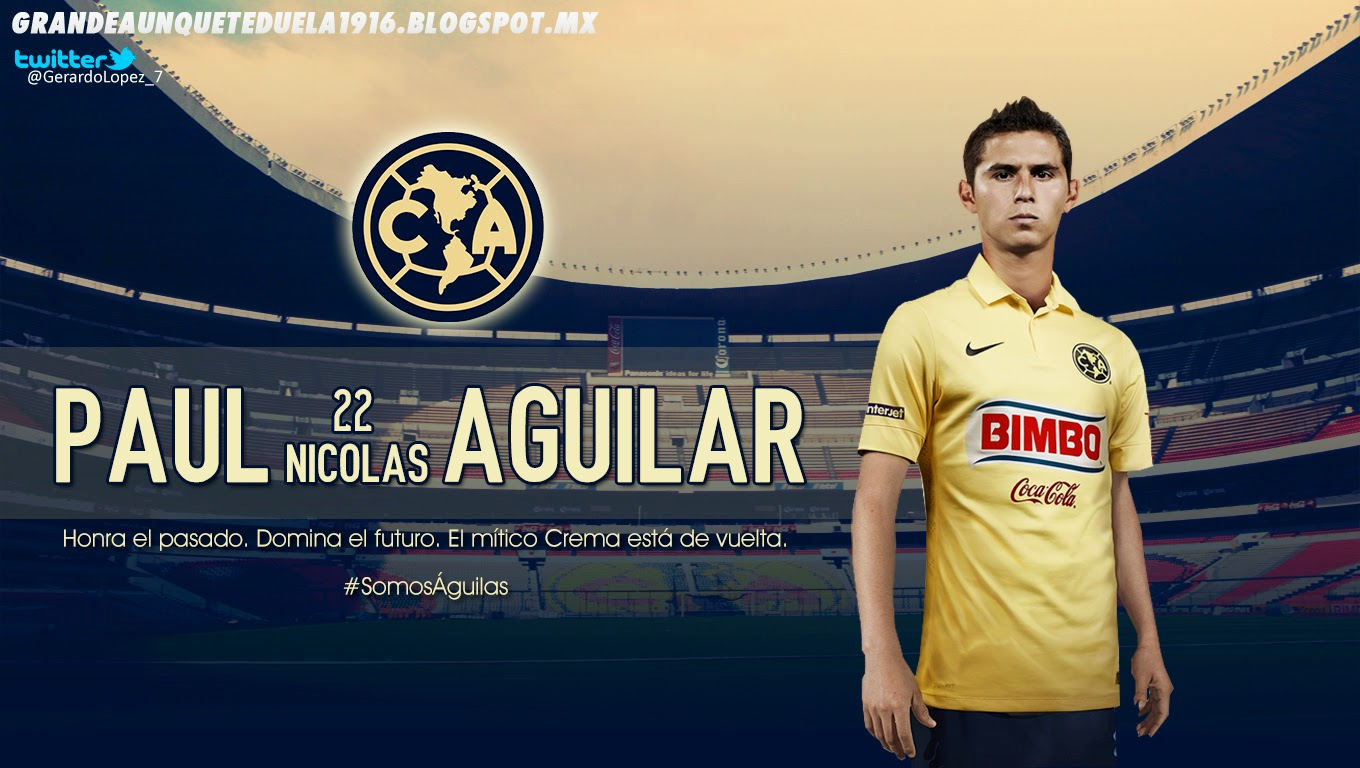Paul America Wallpapers Club de Futbol America Sitio NO Oficial Paul Nicolas Aguilar