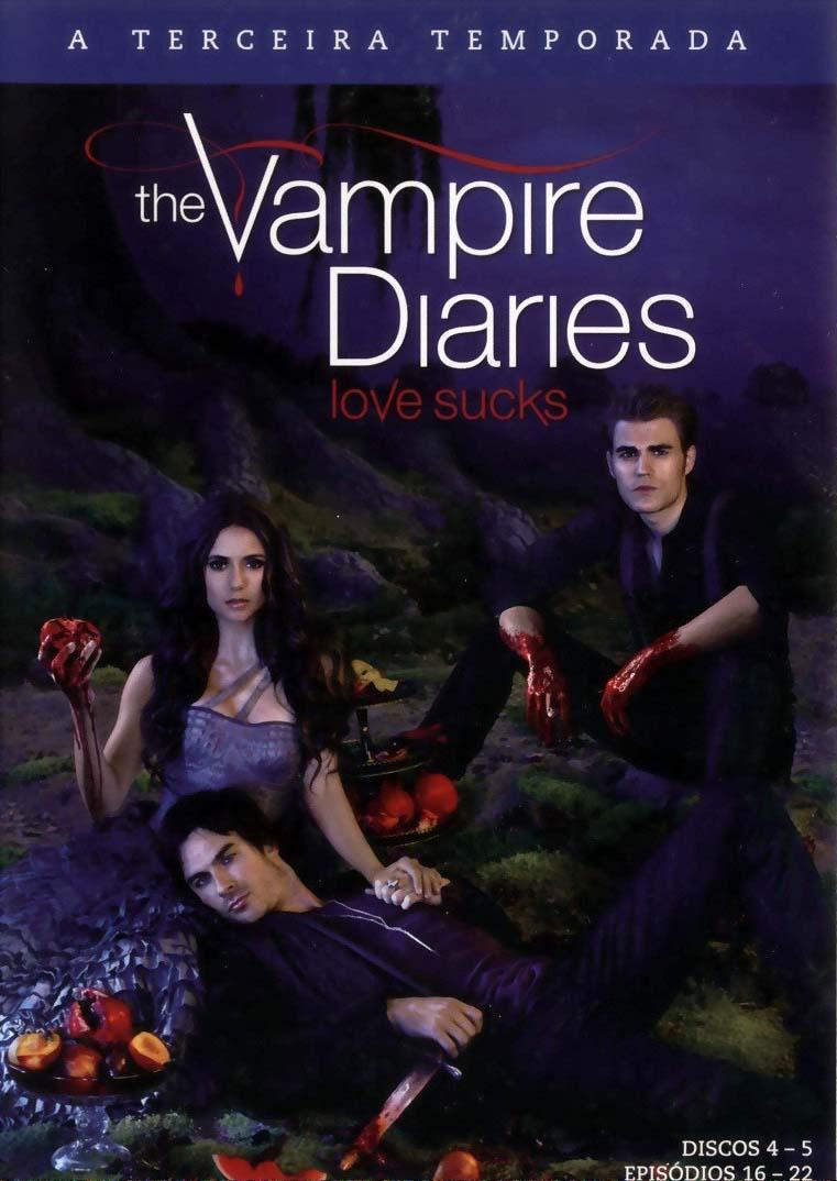 Diários de Um Vampiro 3ª Temporada Torrent - BluRay 720p Dual Áudio
