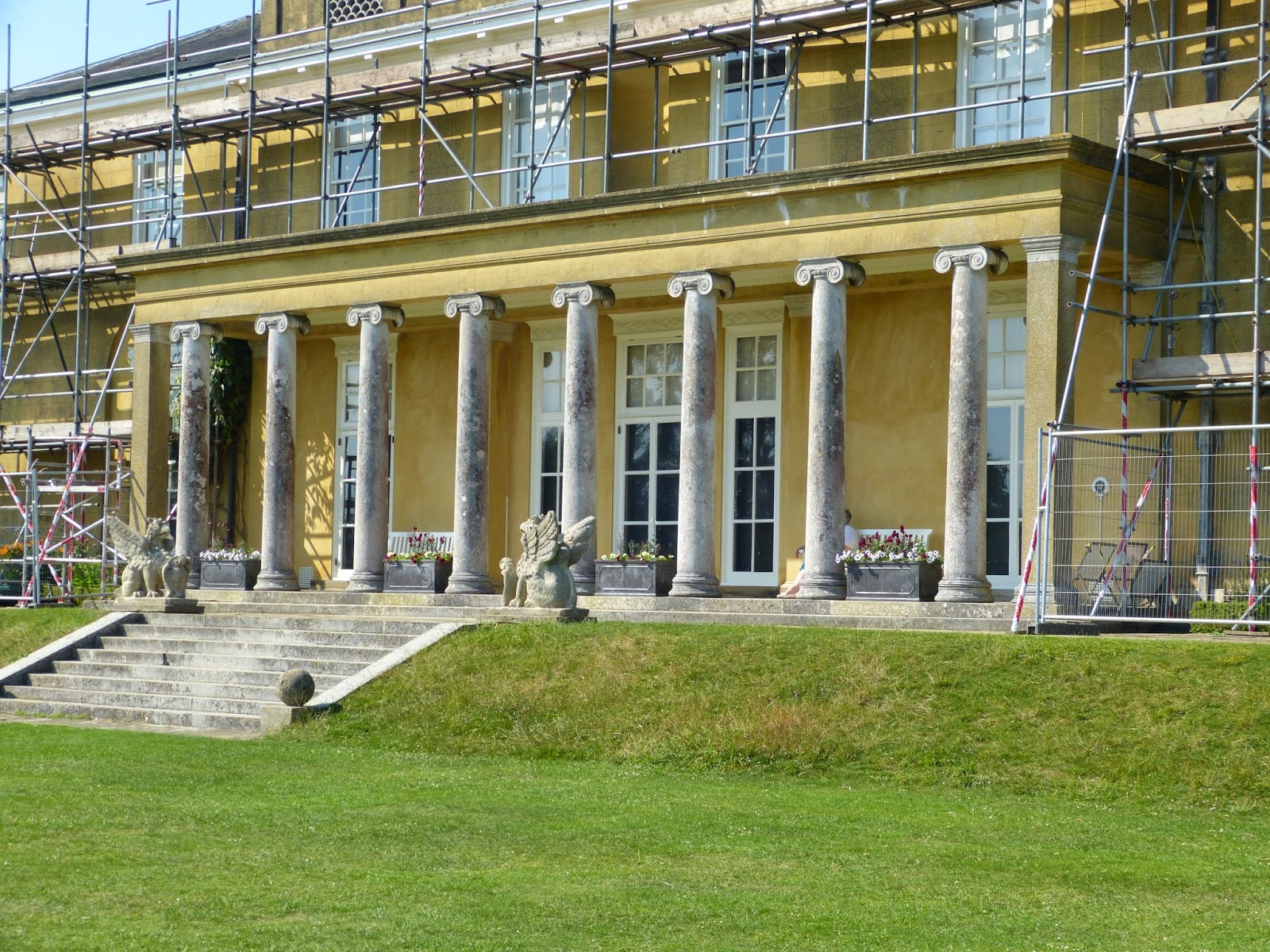 The south front of Polesden Lacey