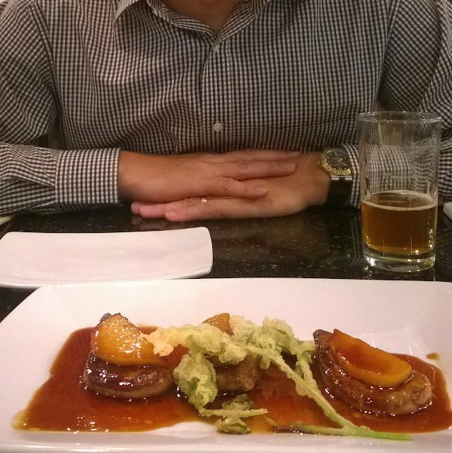 Kiwami foie gras at Katsu-ya