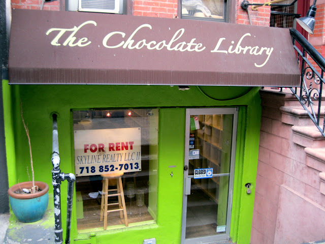 The Chocolate Library was a New York dining destination that just never took off