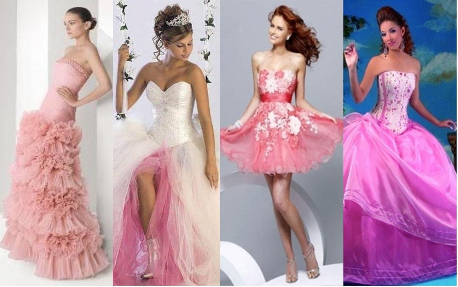 AreaFemenina: Vestidos rosados de 15 años: Tendencias en vestidos ...