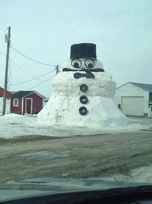 NNY's Winter Icon....The Snowman of Champion