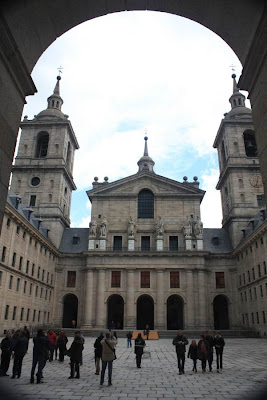 Courtyard of the kings of Monastery del Escorial