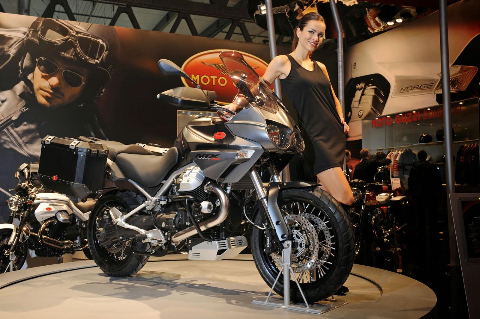 Moto Guzzi Stelvio NXT New Show Room Bikes
