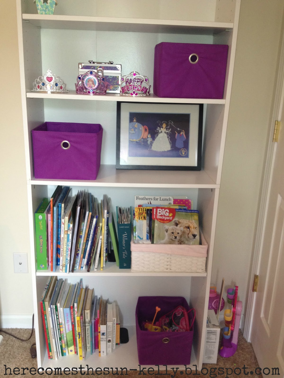 giveaway winner and girl 39 s room organization here comes the sun