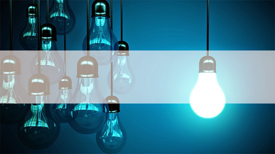 Bulb Title Slide Background ~ All-free-templates